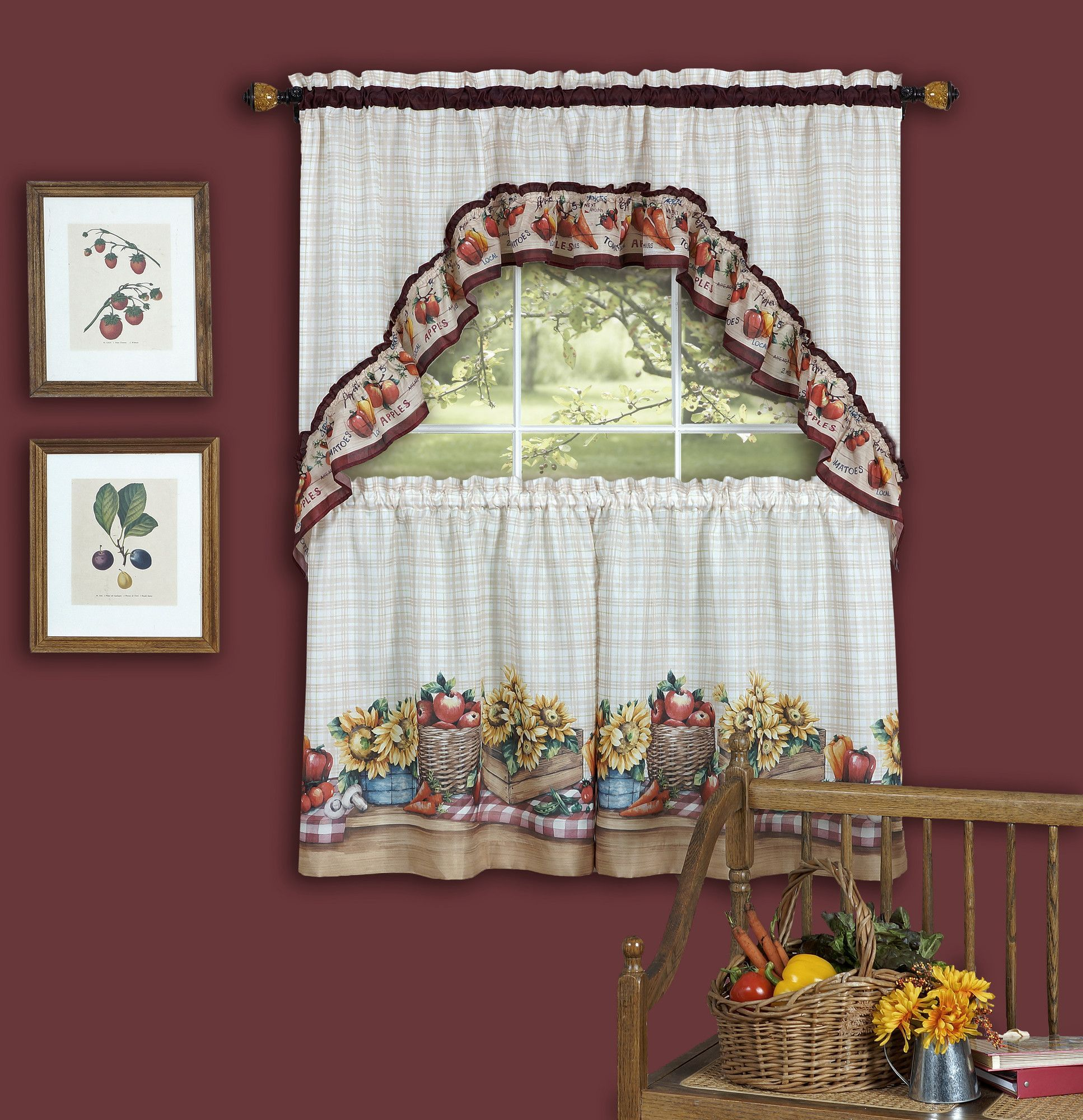 Farmerus market valance and tier set products pinterest products