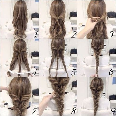Simple Braided Hairstyles Fair Pinkiley Craig On Hair Styles 4 School  Pinterest  Hair Style