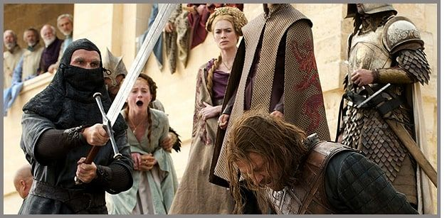 ned stark beheaded | Game of Thrones: George R.R. Martin Teases Mass Death in Next Books ...