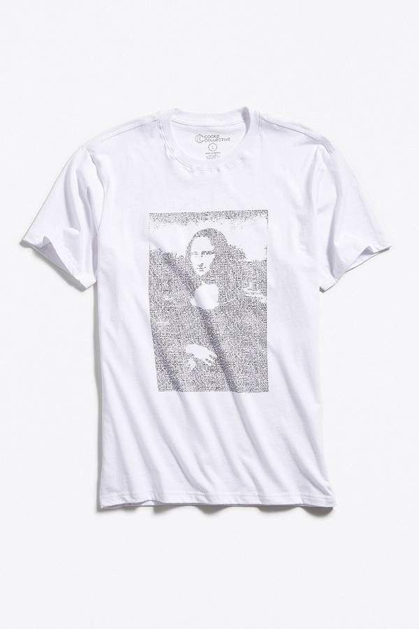 c801e6877 Urban Outfitters Digi Mona Lisa Tee in 2019 | Products | Tees, Mens ...