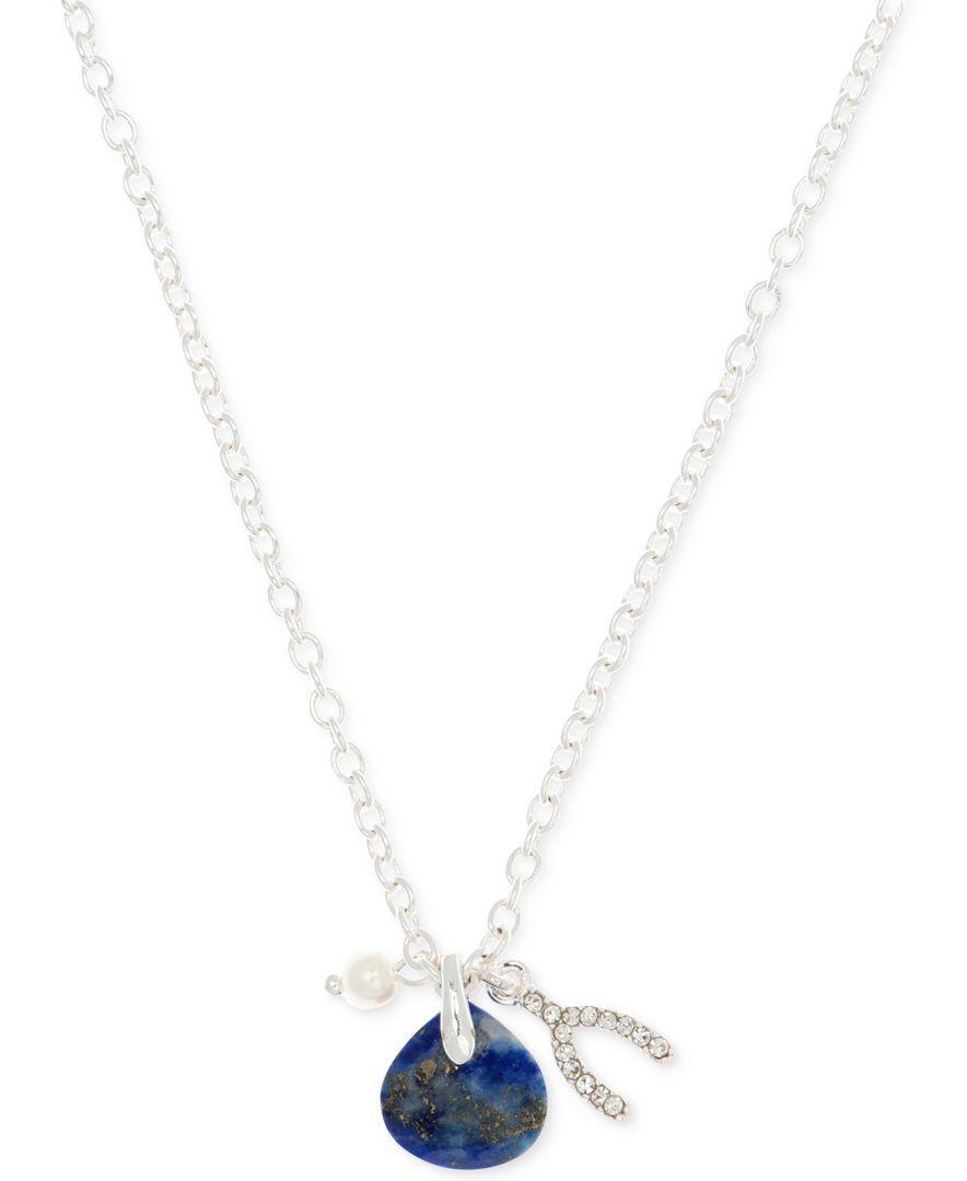 lonna & lilly Birthsone Pendant & Charm Necklace
