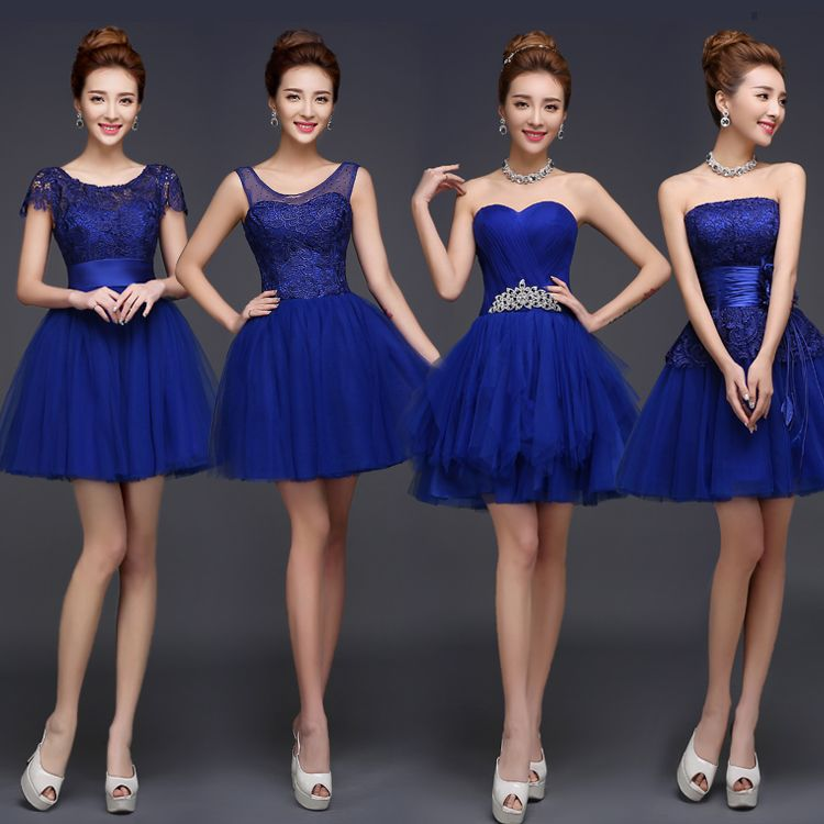 Vestidos De Damas De Boda Cortos