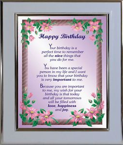 Happy Birthday Poems From Sister To Brother Cards Birthday