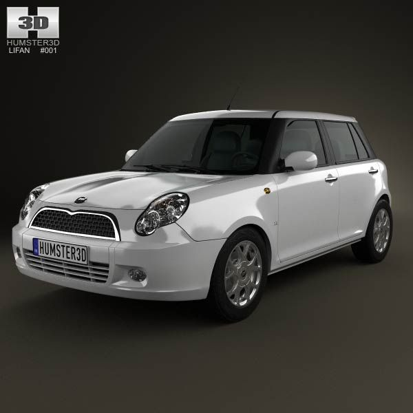 Lifan 320 (Smiley) 2012 3d model from humster3d.com. Price: $75