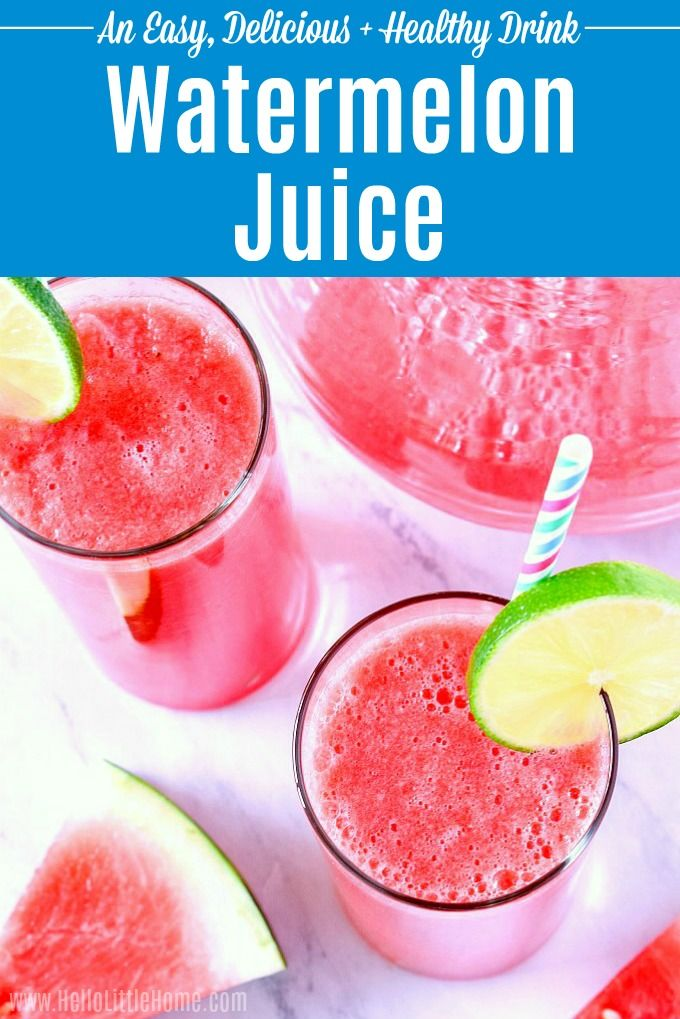 Learn How To Make Fresh Watermelon Juice Recipe Watermelon Juice Recipe Watermelon Juice Watermelon Smoothies