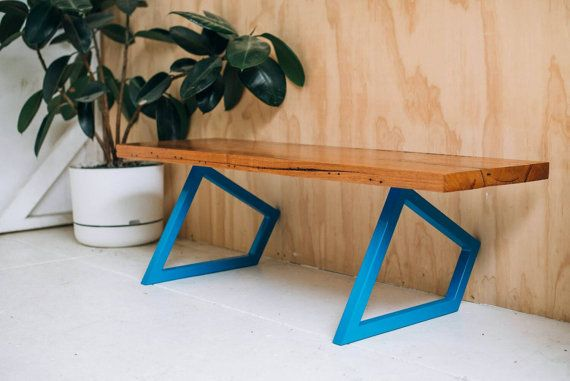Geometric table legs.
