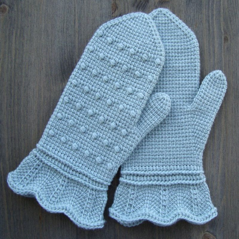 free pattern tunisian crochet \