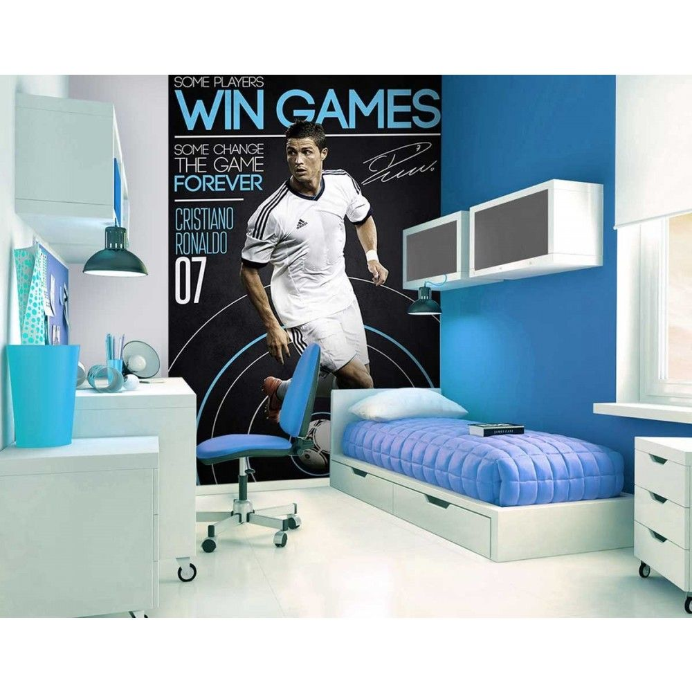 Fooball legend cristiano ronaldo wallpaper great for Cristiano ronaldo wall mural