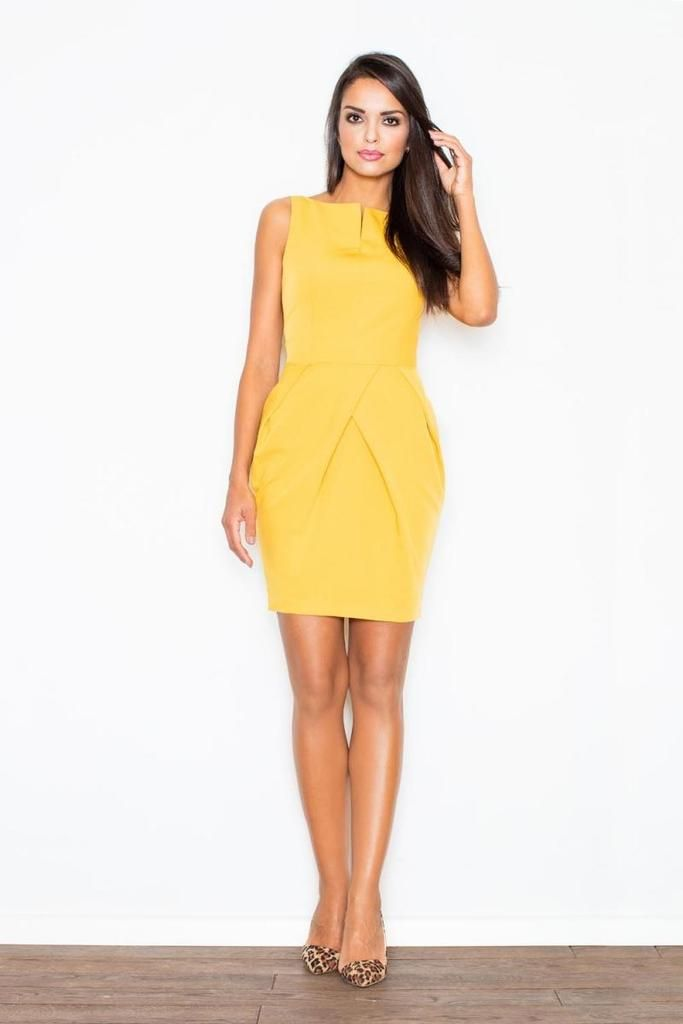 9ab90fd7e0 Yellow Figl Dresses | Caribbean Philosophy Color | Yellow dress ...
