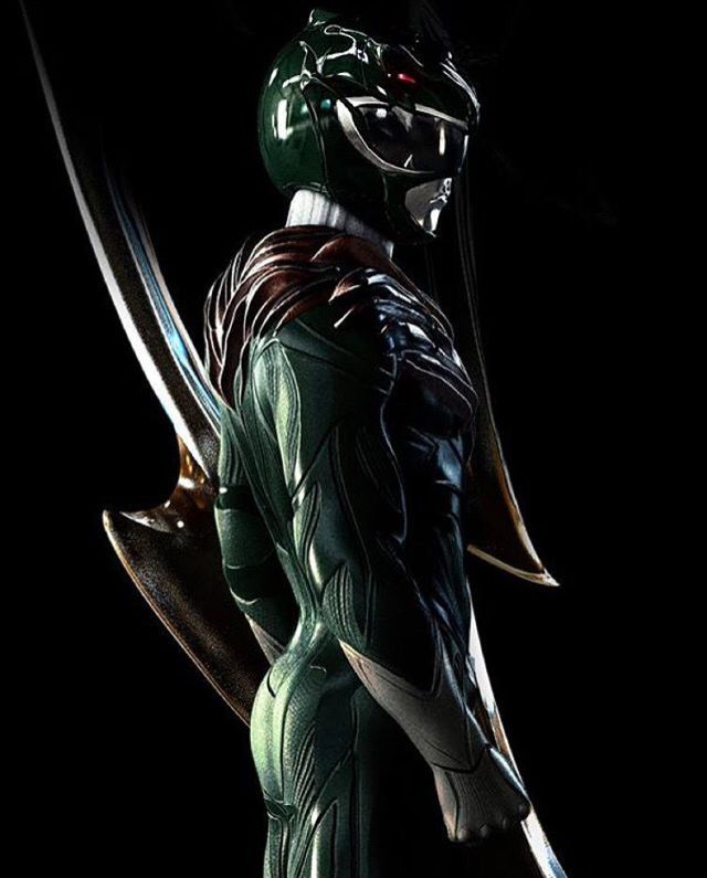 Green Ranger by Carlosdattoliart. This is absolutely amazing! Favorite design of the Rangers thus far.  Would love for this to be in the new movie! #SonGokuKakarot