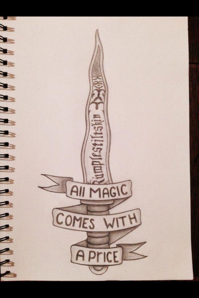 Toda Magia Viene Con Un Precio A Pinterest Magia Dibujo Y Dibujar