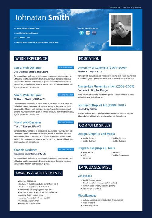 modern resume google search resumes designs pinterest sample