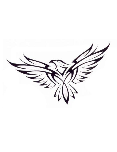 Tribal Eagle Tattoo Eagle Tattoo Tribal Eagle Tattoo Hawk Tattoo