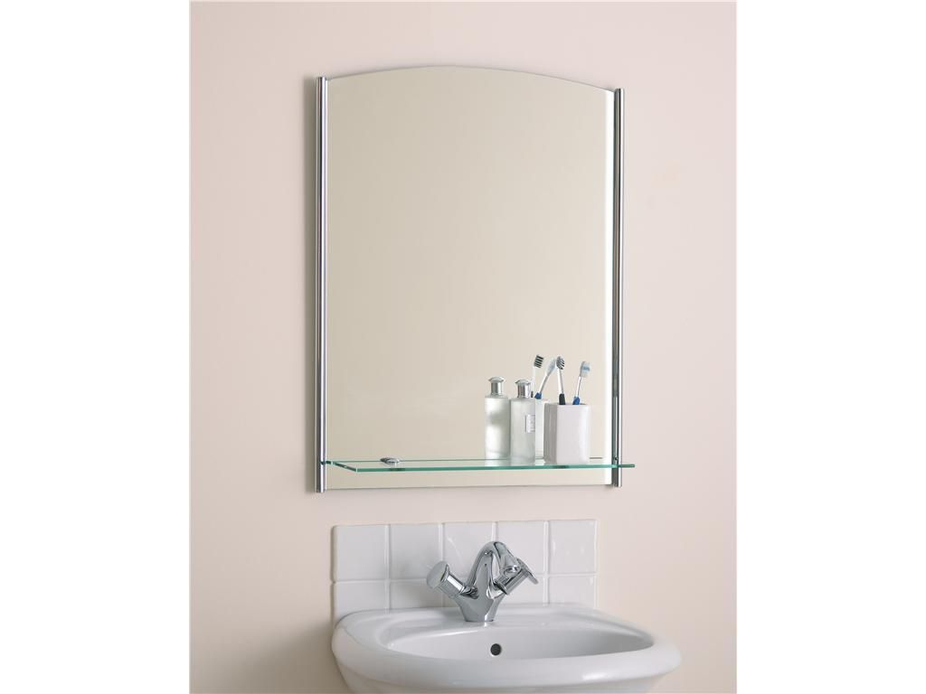 Order A Multifunctional Small Bathroom Mirror With Shelf From IKEA Original Kits Are Designed For Bathrooms