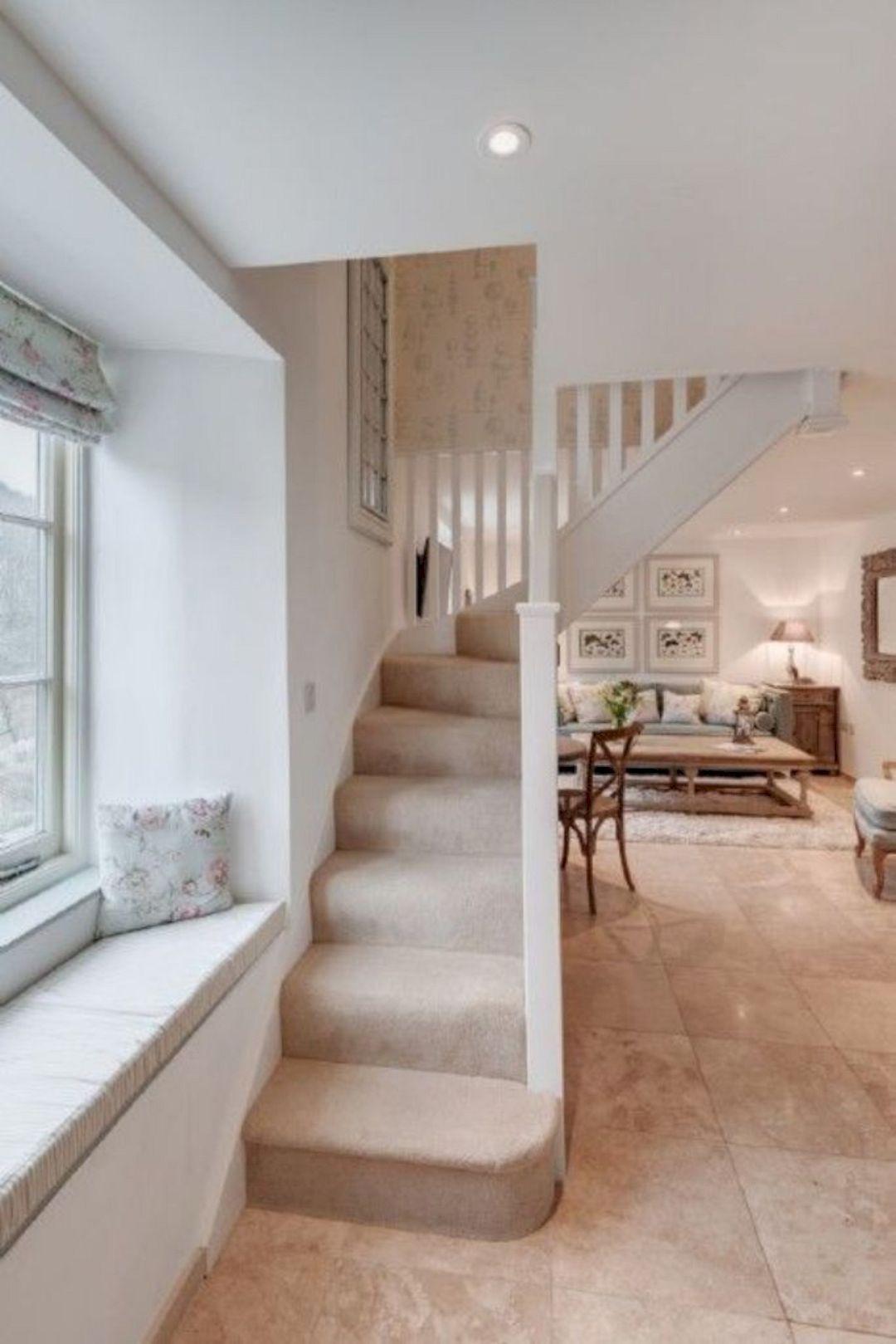 16 Small Cottage Interior Design Ideas Small Cottage Interiors | Staircases For Small Cottages | Open | Small Footprint | Skinny | Corner | Wooden