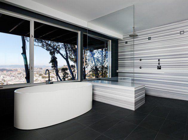 Des Idées De Salle De Bain Moderne Et Minimaliste | Modern