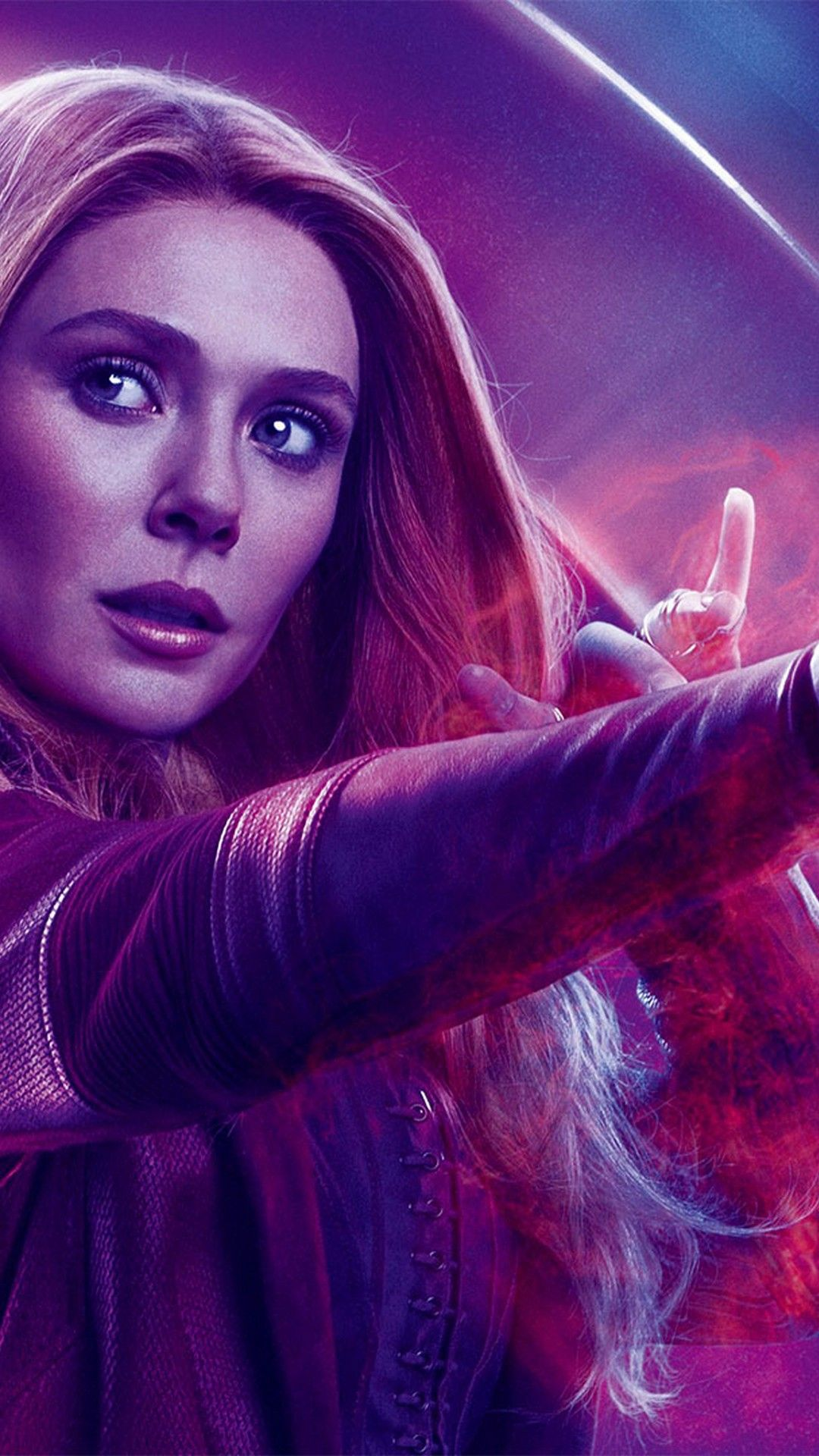Scarlet Witch Avengers Endgame iPhone Wallpaper Best