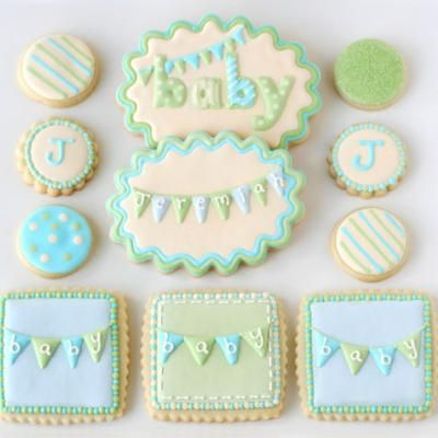Good Baby Shower Cookie Decorating {Tutorial}