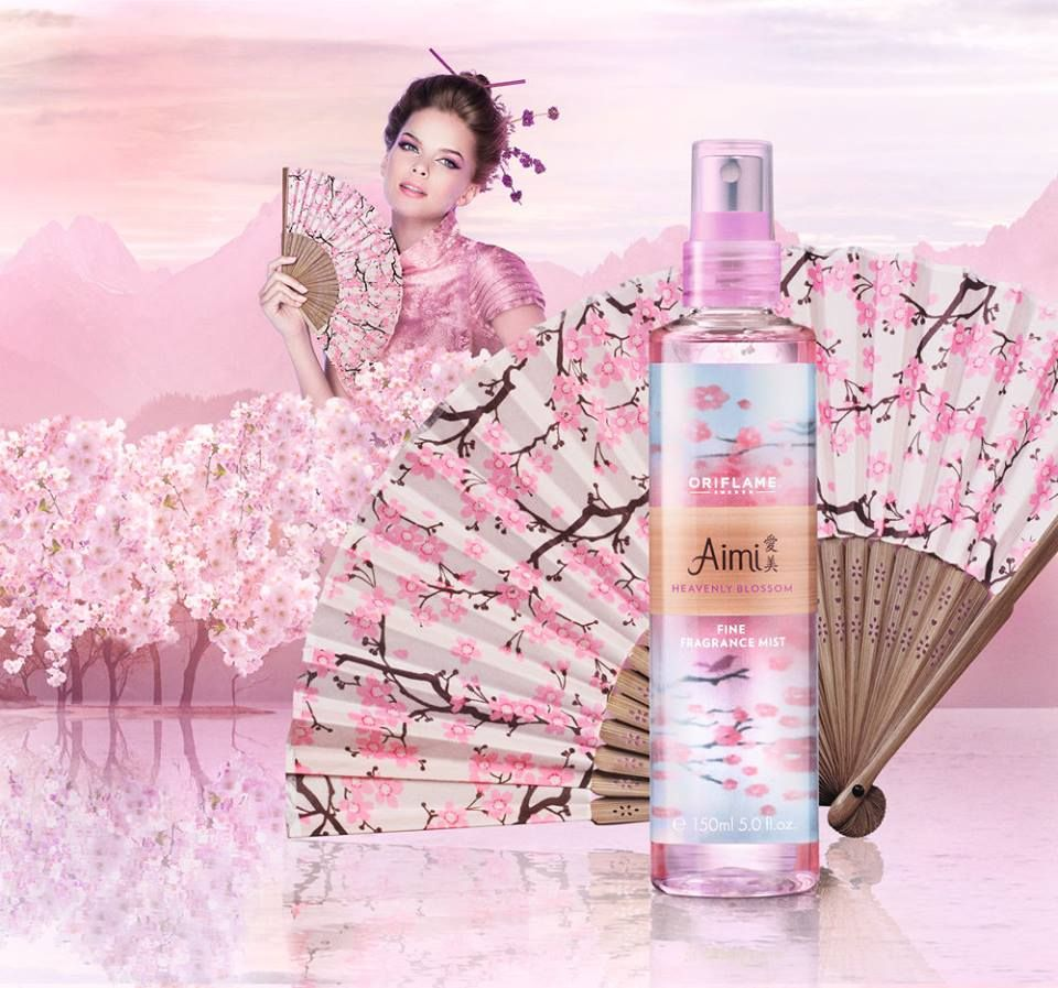 Aimi Heavenly Blossom Fine Fragrance Mist by Oriflame
