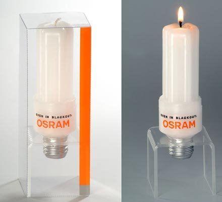 osram candle