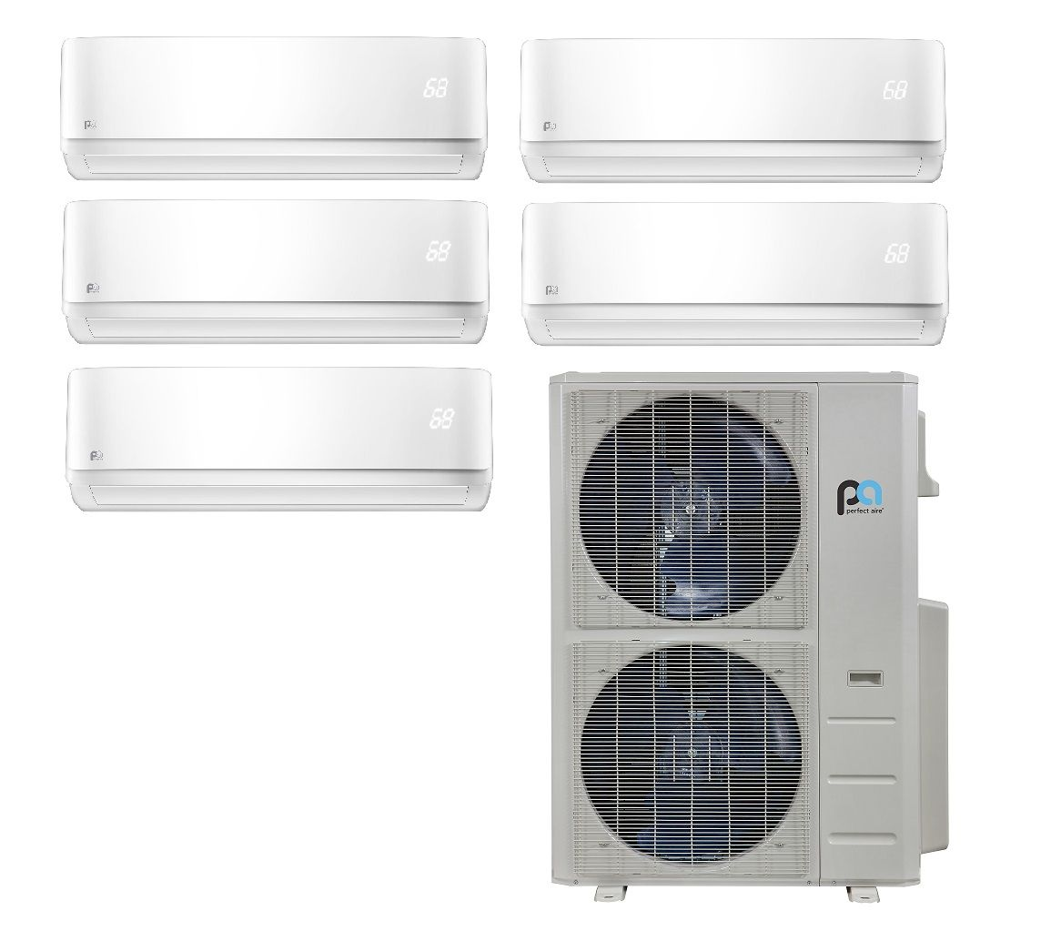 Multi Zone 5 Rooms In Minisplitwarehouse Com Our Multi Zone Ductless Experts Are Here To Help You Purchase In 2020 Ductless Mini Split Heat Pump Air Conditioner Units