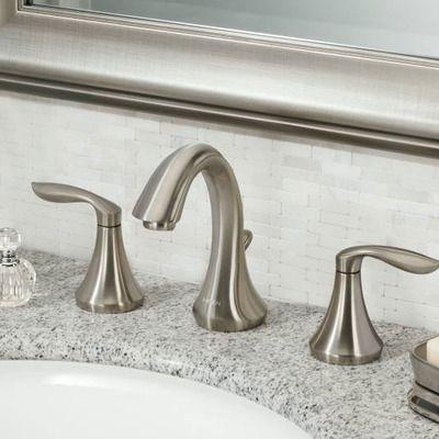 Eva Widespread Bathroom Faucet Bathroom Accessories Pinterest