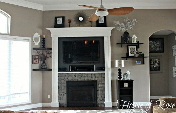 Valspar Hot Stone Living Room Accent Wall Paint Paint