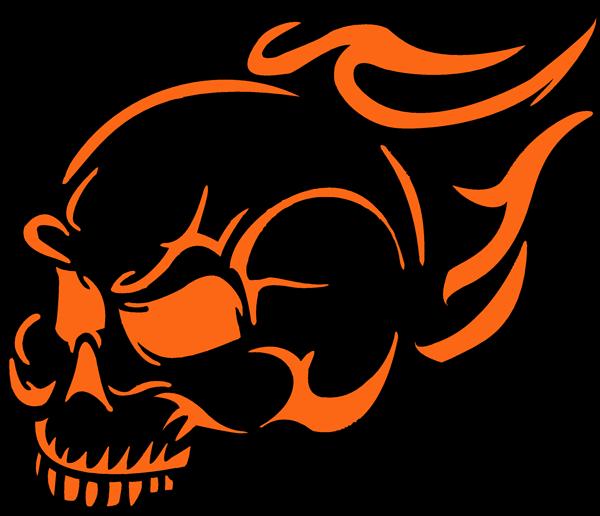 Harley Davidson Pumpkin Stencil