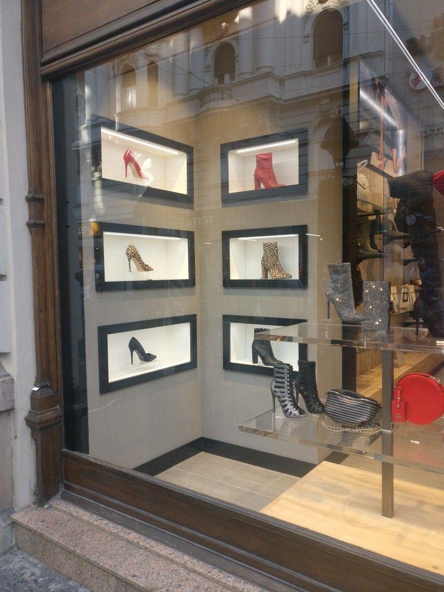 670be54004e The window of Steve Madden shop in Belgrade