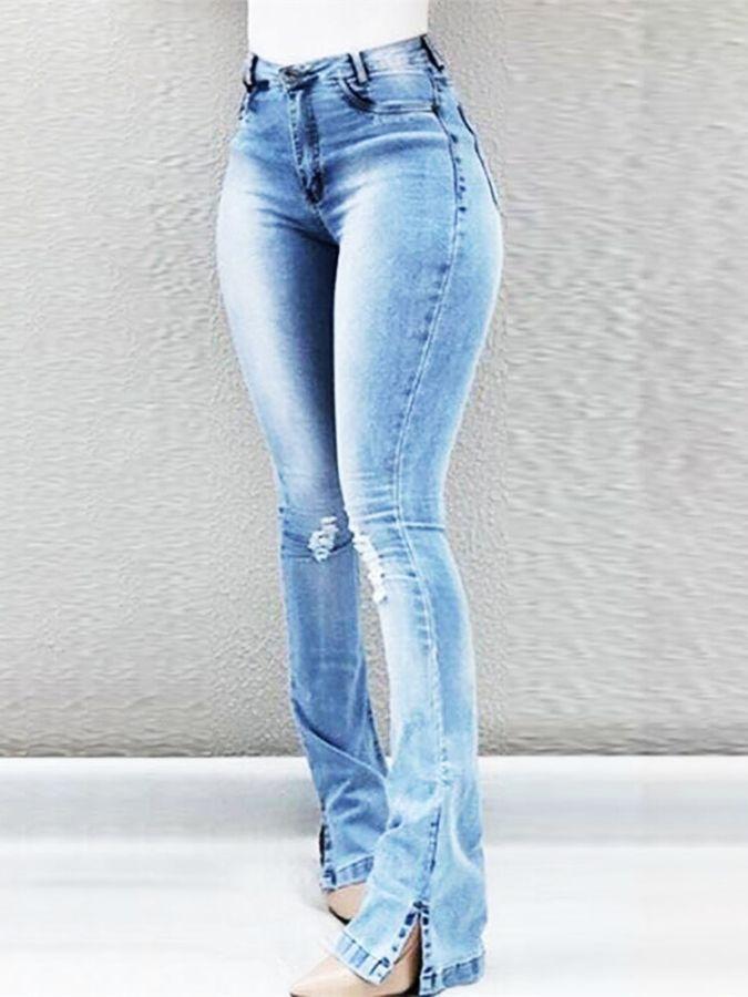 Pin En Pantalones Vaqueros Mujer