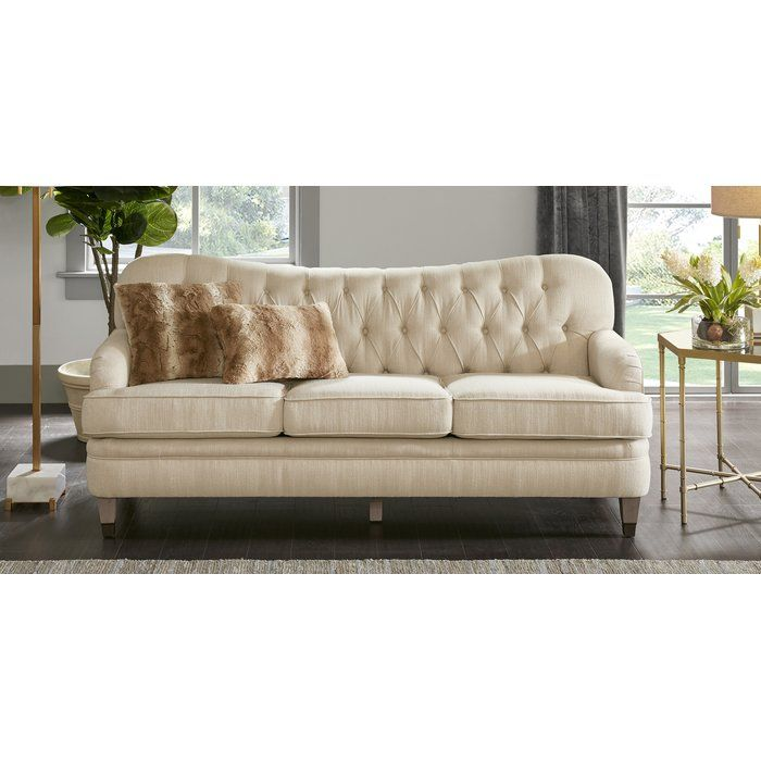 Madison Park Signature Aurora Sofa Wayfair Sofa Rustic Furniture Diy Sofa Pictures