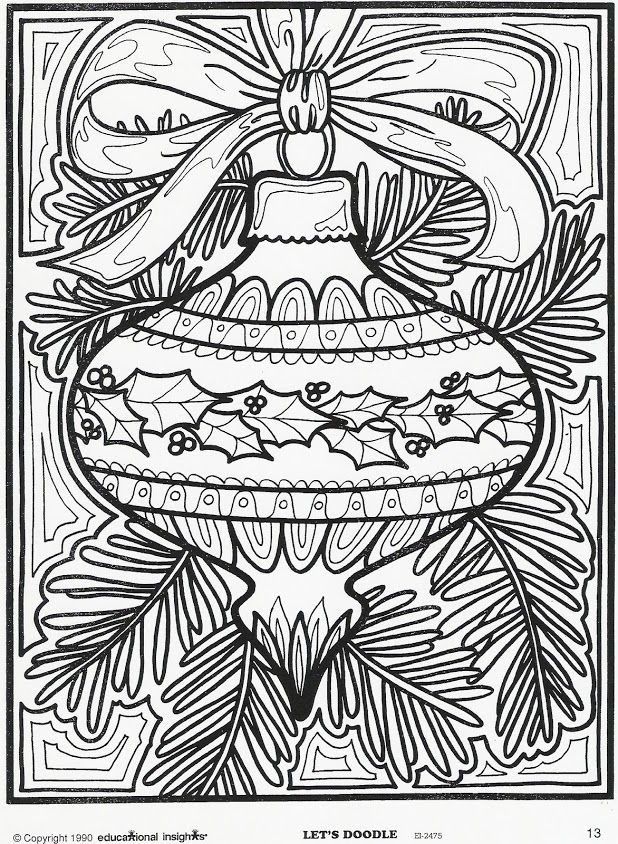 More Lets Doodle Coloring Pages Printable Christmas PagesChristmas Sheets