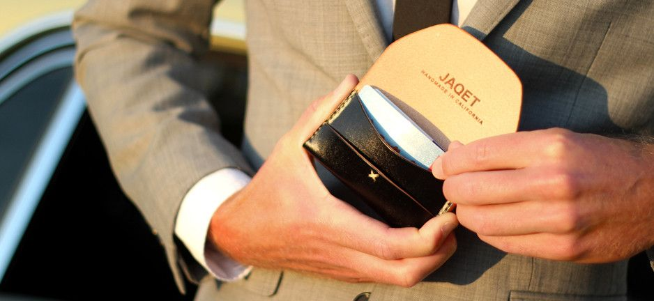 Jaqet Wallets. Made in California. #swag ;)