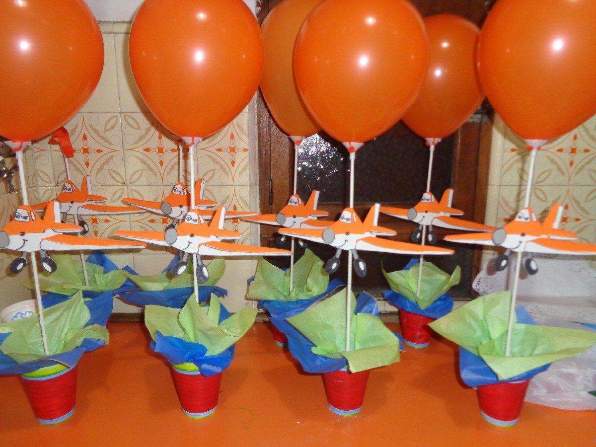 Centro de mesa de aviones de disney buscar con google - Mesas infantiles disney ...