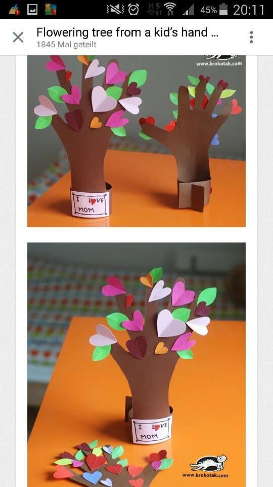 Muttertagsbaum grundschule kunstunterricht muttertag muttertag geschenke basteln und - Muttertag grundschule ...
