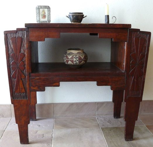 ANTIQUE NEW MEXICO U0026 MODERN ARCHITECTURAL FURNITURE, HISTORIC SPANISH  COLONIAL, WPA ERA,