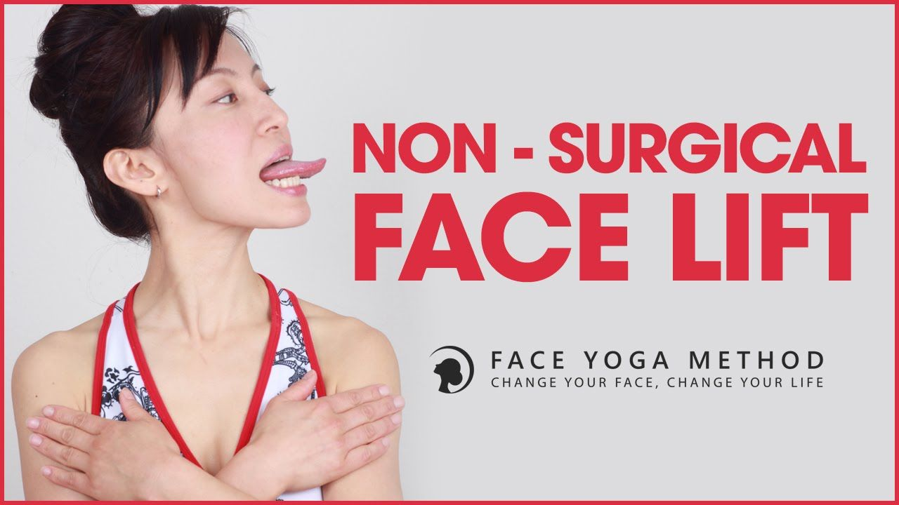 Non Surgical Facelift With Face Yoga faceyogamethod