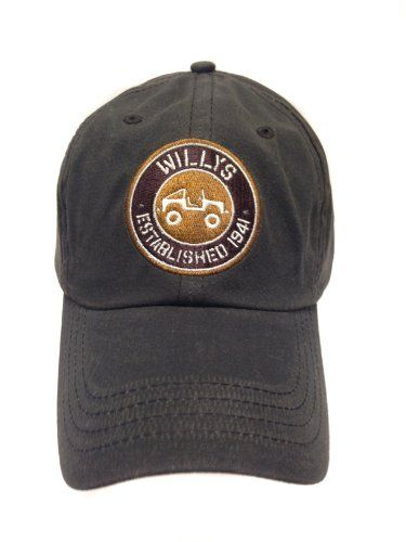 76822c94 Jeep Willys Hat w/Willys Jeep Logo   It's a Jeep thing   Jeep, Jeep ...