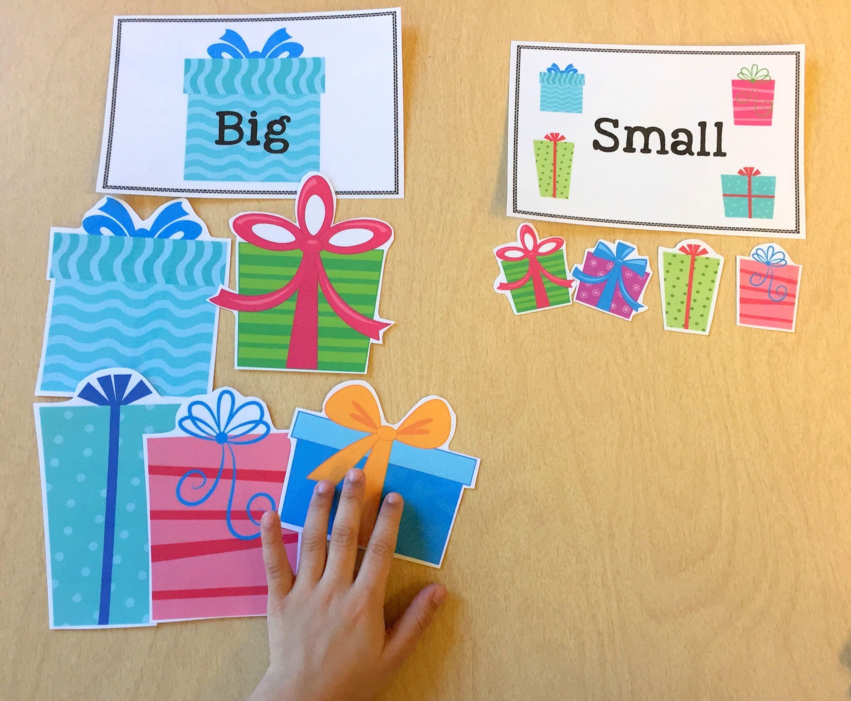 Free Big Small Christmas Sorts