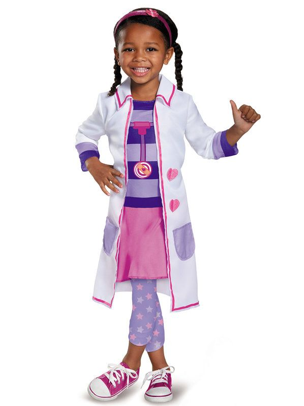 check out doc mcstuffins girls toy hospital classic costume infanttoddler disney junior halloween - Disney Jr Halloween Costumes