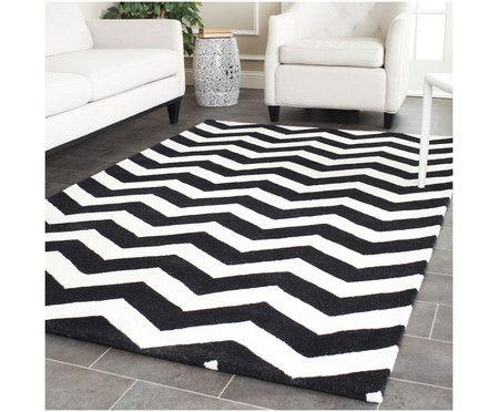 Badezimmerteppich Weiß ~ Die besten 25 schwarz weiß teppich ideen auf pinterest
