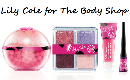 Lily Cole Cruelty-Free Makeup Collection - glittery eyes!