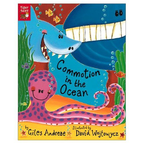 Commotion In The Ocean Children S Book By Giles Andreae