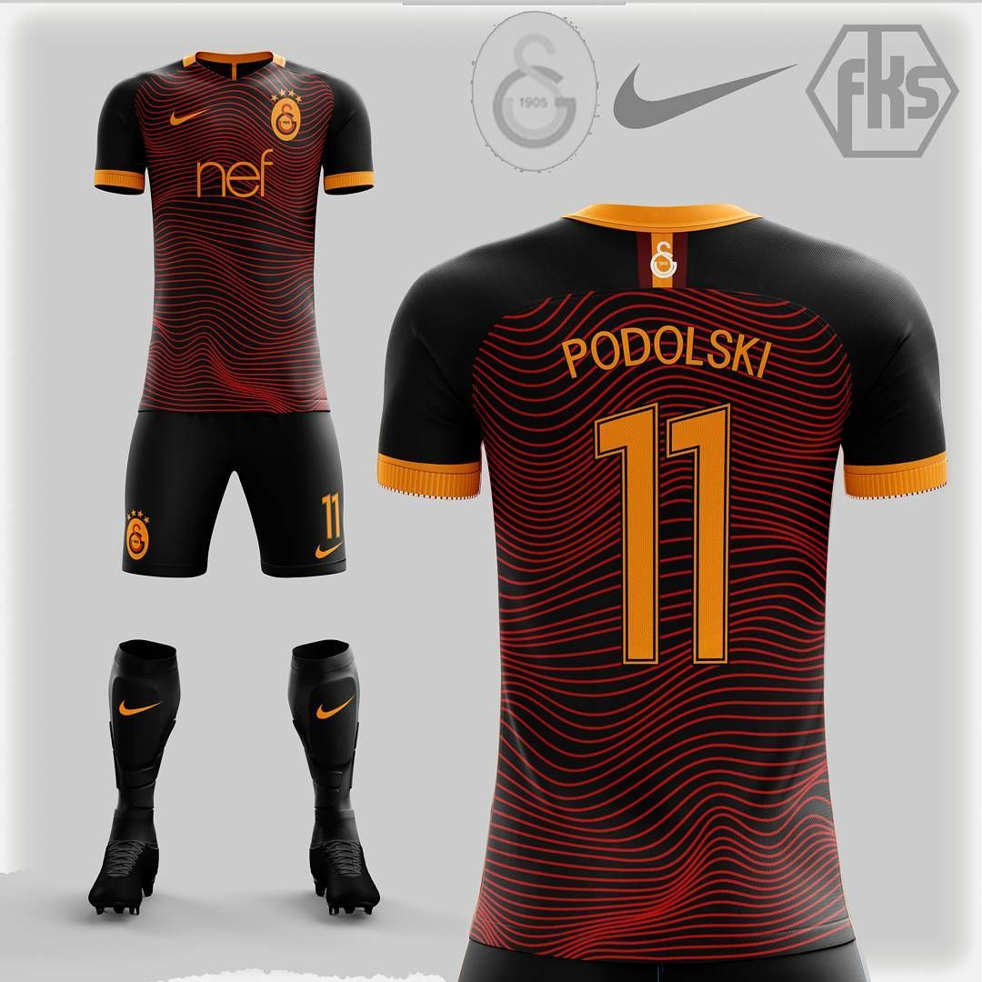 separation shoes 40efd 40b8a Galatasaray SK away kit concept - #nike #nikefootball ...