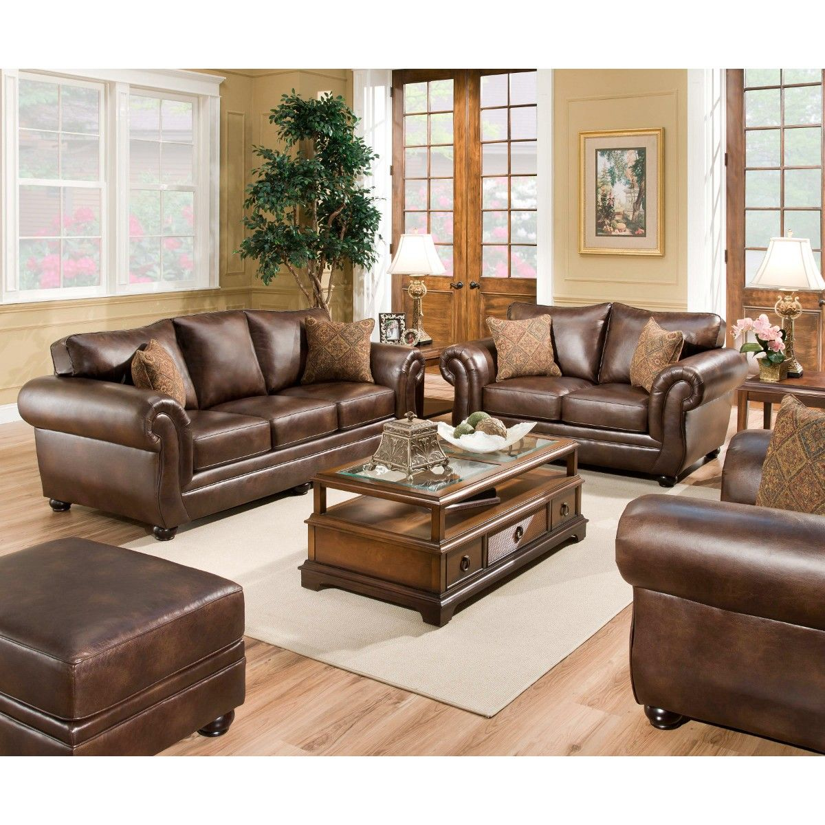 Living Room Sets At Conns united miracle sofa | leather (4280mirsofa) | conn's | furniture