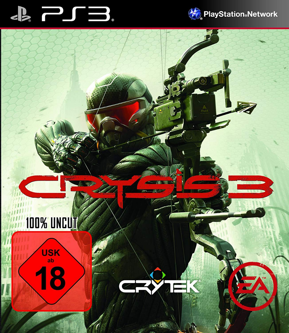 Crysis 3 Uncut Playstation 3 Amazon De Games Playstation Bucher Spiele