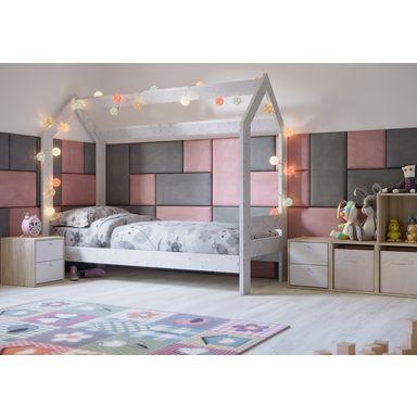 Panel Tapicerowany Ciemnoszary 60 X 30 Cm Panele Tapicerowane W Atrakcyjnej Cenie W Sklepach Leroy Merlin Home Decor Furniture Toddler Bed