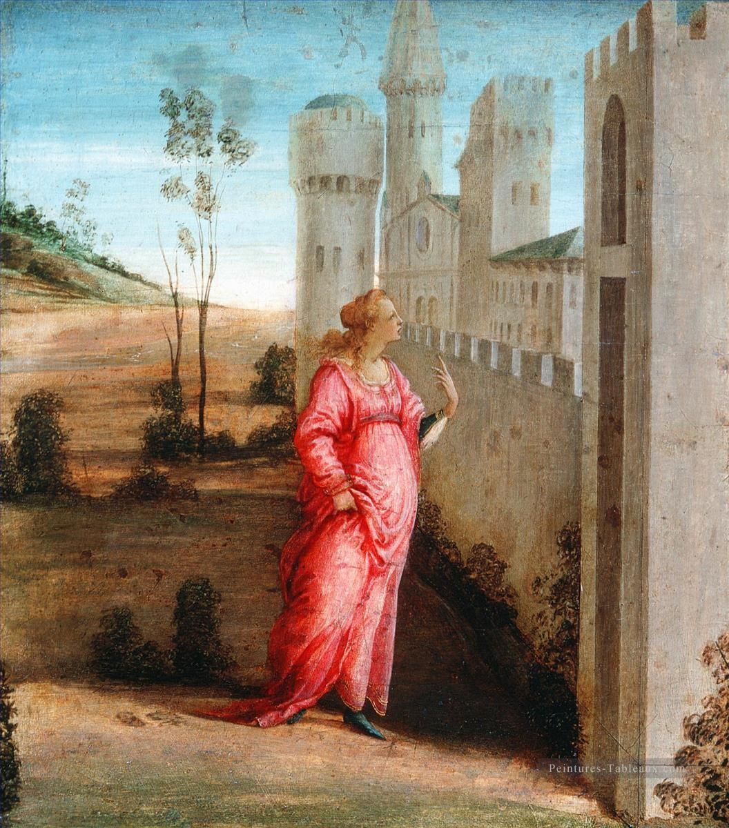 Sandro Botticelli : Esther at the Palace Gate (National Gallery of Canada) 1445 -1510 サンドロ・ボッティチェッリ