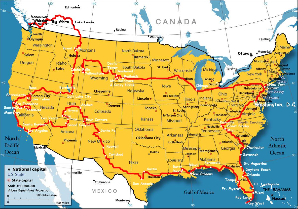 National Parks Map Usa Grey United States National Parks Map - Map us parks