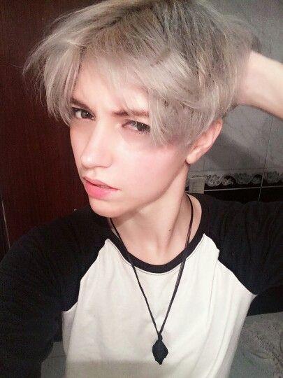 #ulzzang #ulzzangtomboy #trans #tomboy #transboy | Silver